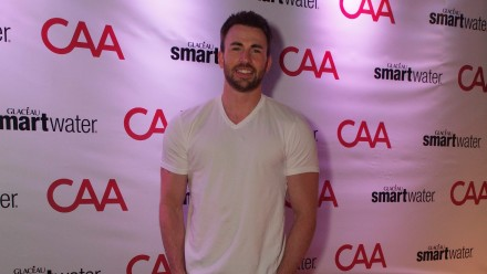 Chris Evans at CAA TIFF party sponsored by smartwater - Photo by